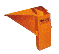 Camlever Vertical Rear Discharge Hopper
