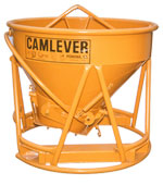 Camlever All 'N' One concrete placement bucket