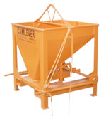 Camlever Square Beam concrete placement bucket