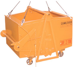 Camlever Trash and Material handler